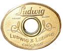 1920s Ludwig Badge