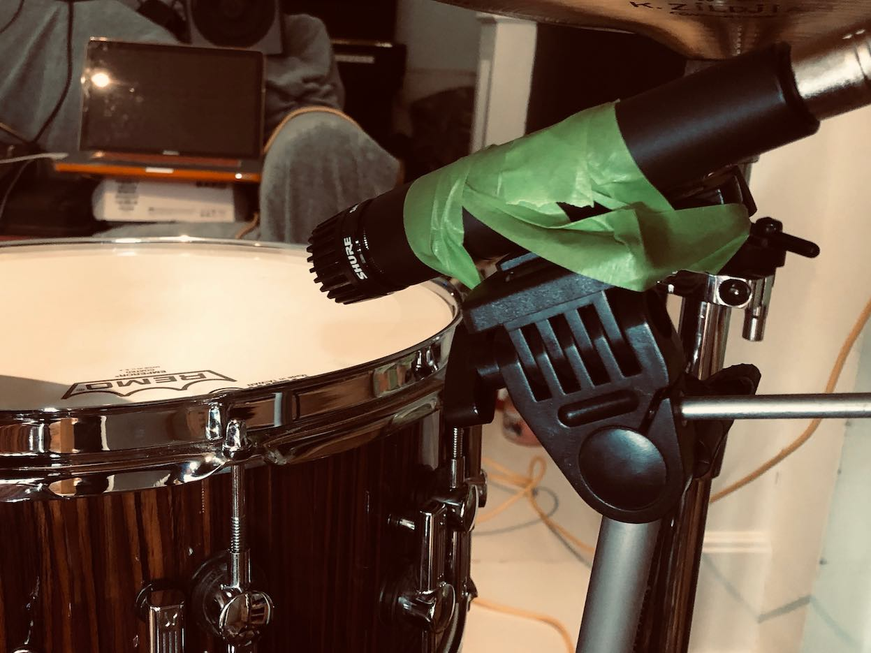 Snare drum mic