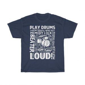 Play drums loud