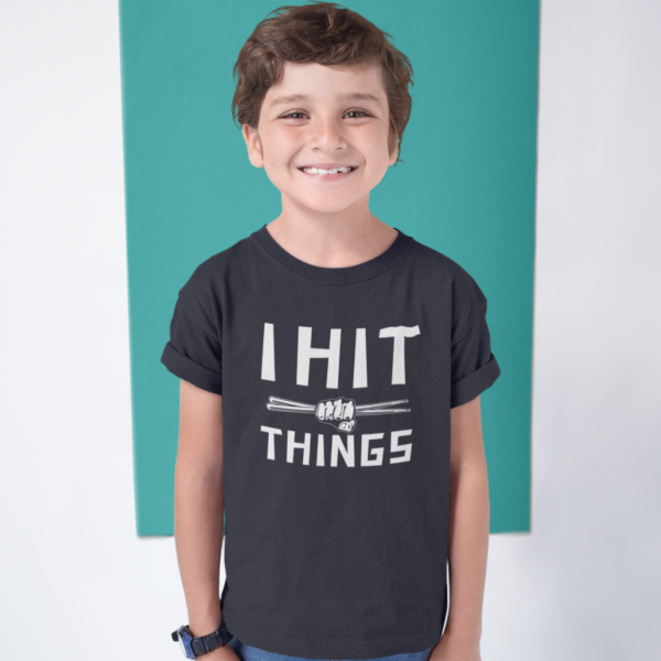 kids drum t-shirt