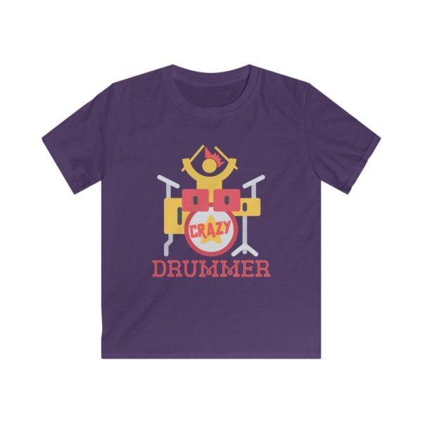 crazy drummer t-shirt