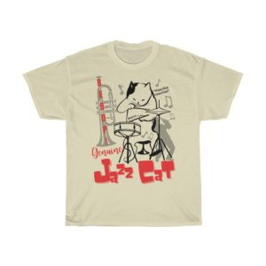 Jazz cat t-shirt