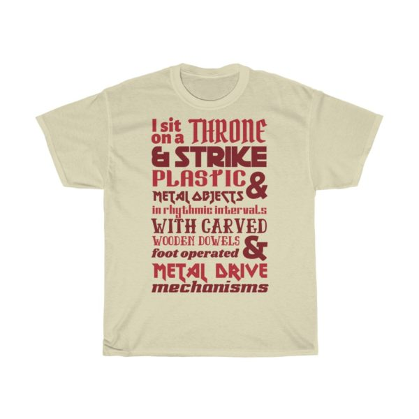 awesome drum t-shirt