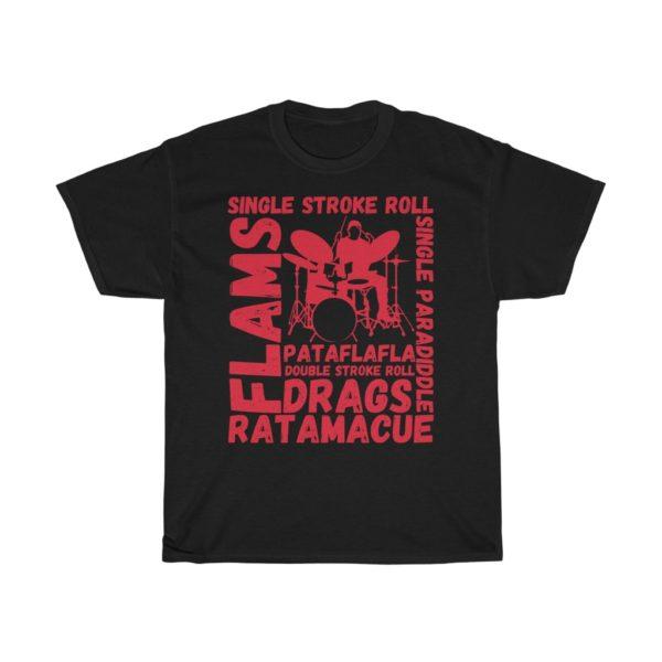 drum rudiments t-shirt