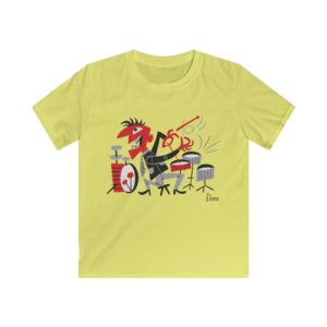 drum t-shirt for kids