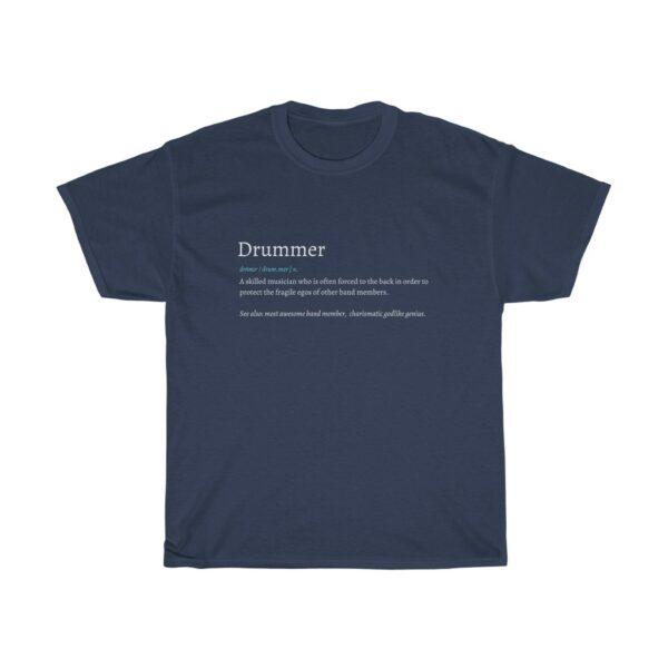 definition drummer tee