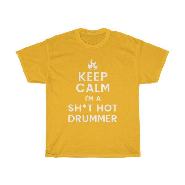Keep calm drum tee