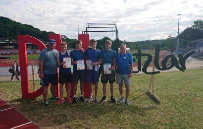 Deutsche Staffelmeisterschaften 4 x 400m U20 am 16. Juni 2019 in Wetzlar