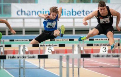 Mitteldeutsche-Hallenmeisterschaften U16/18 am 1. Februar 2020 in Halle