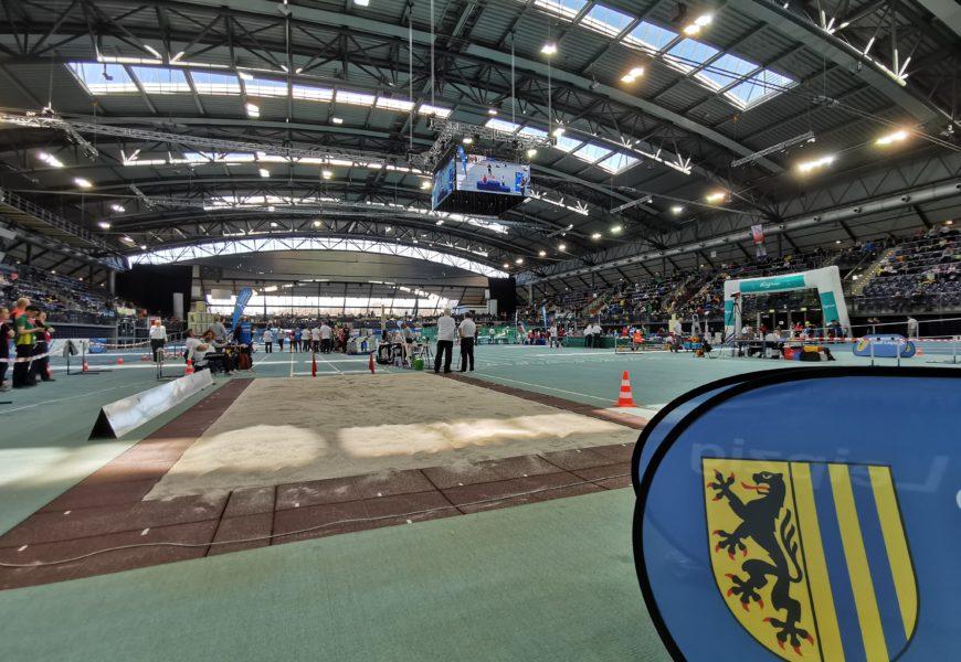 18. MITGAS Schüler-Hallensportfest SG MoGoNo Leipzig am 8. Februar in der Arena Leipzig