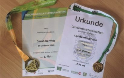 Landesmeisterschaften U 18 am 26. September 2020 in Zittau