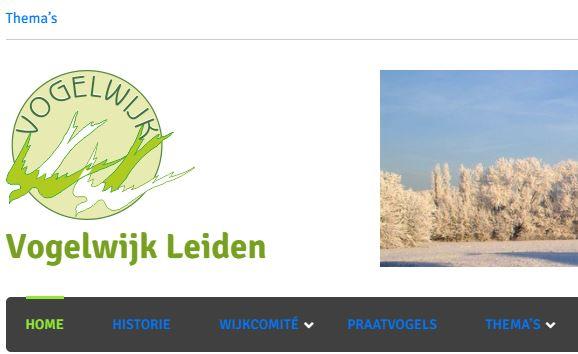Nieuwe website voor de Vogelwijk