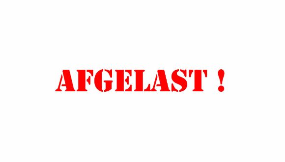 Jaarvergadering Wijkcomité AFGELAST !!