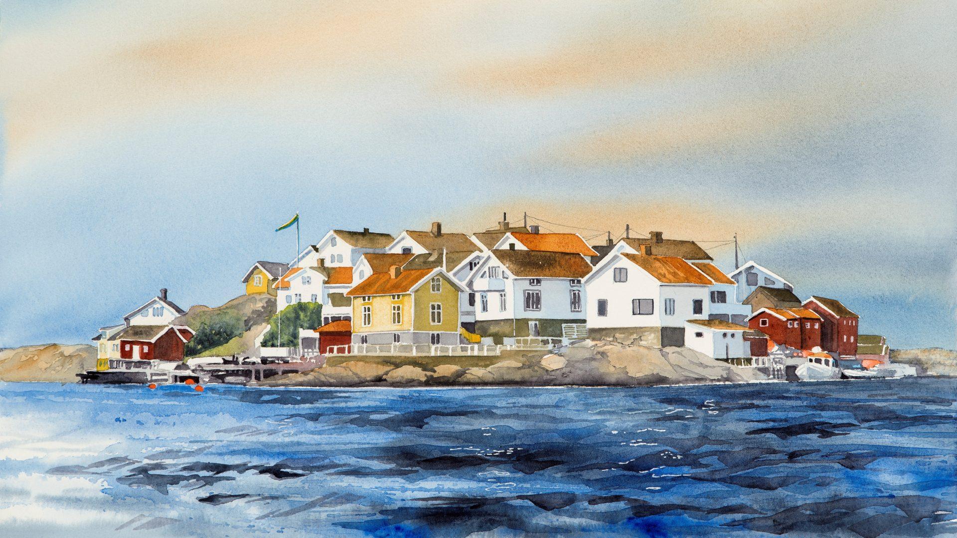 Akvarellkonstnär Lena Nilebäck