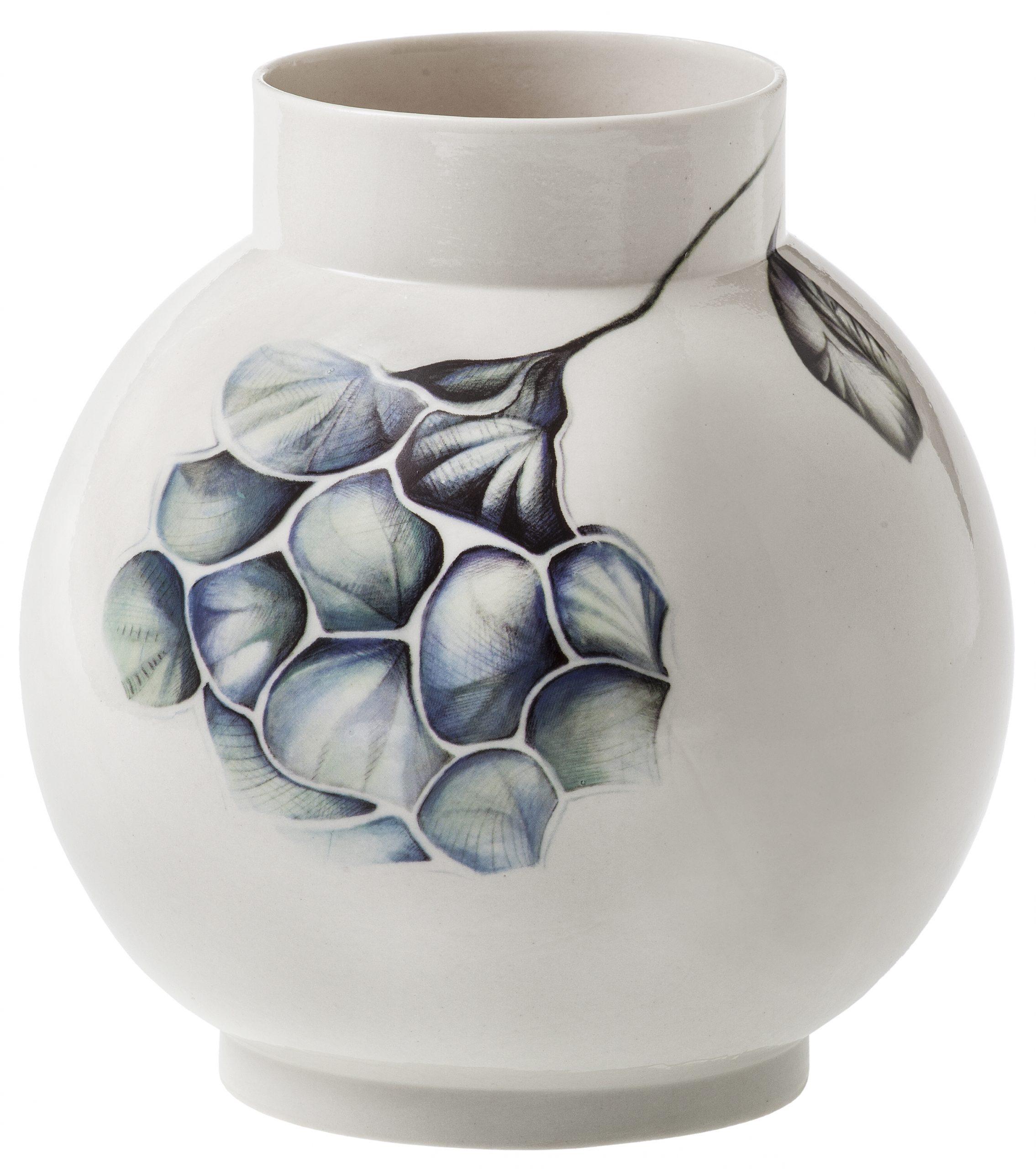 Vase Stor Blå Hortensia