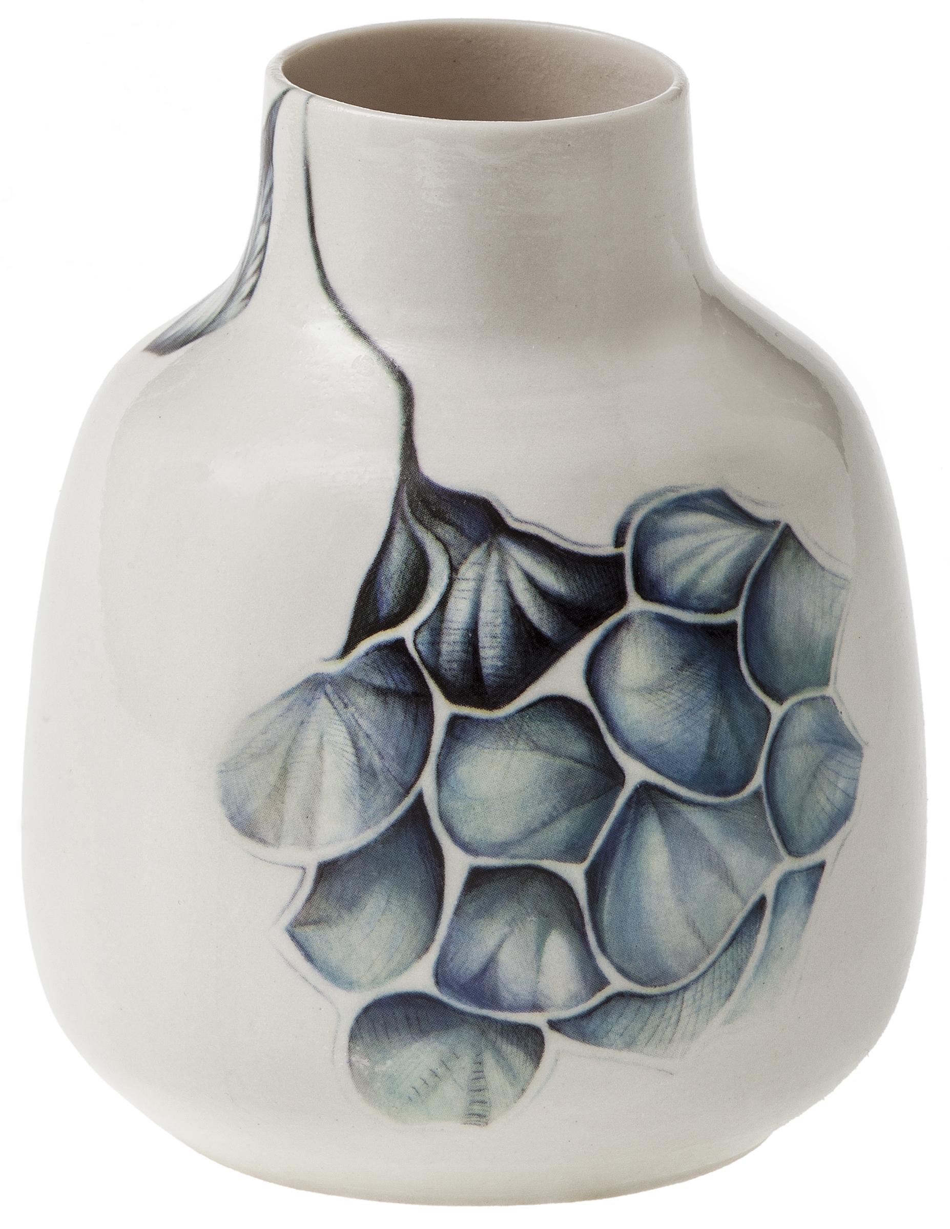 Vase Lille Blå Hortensia