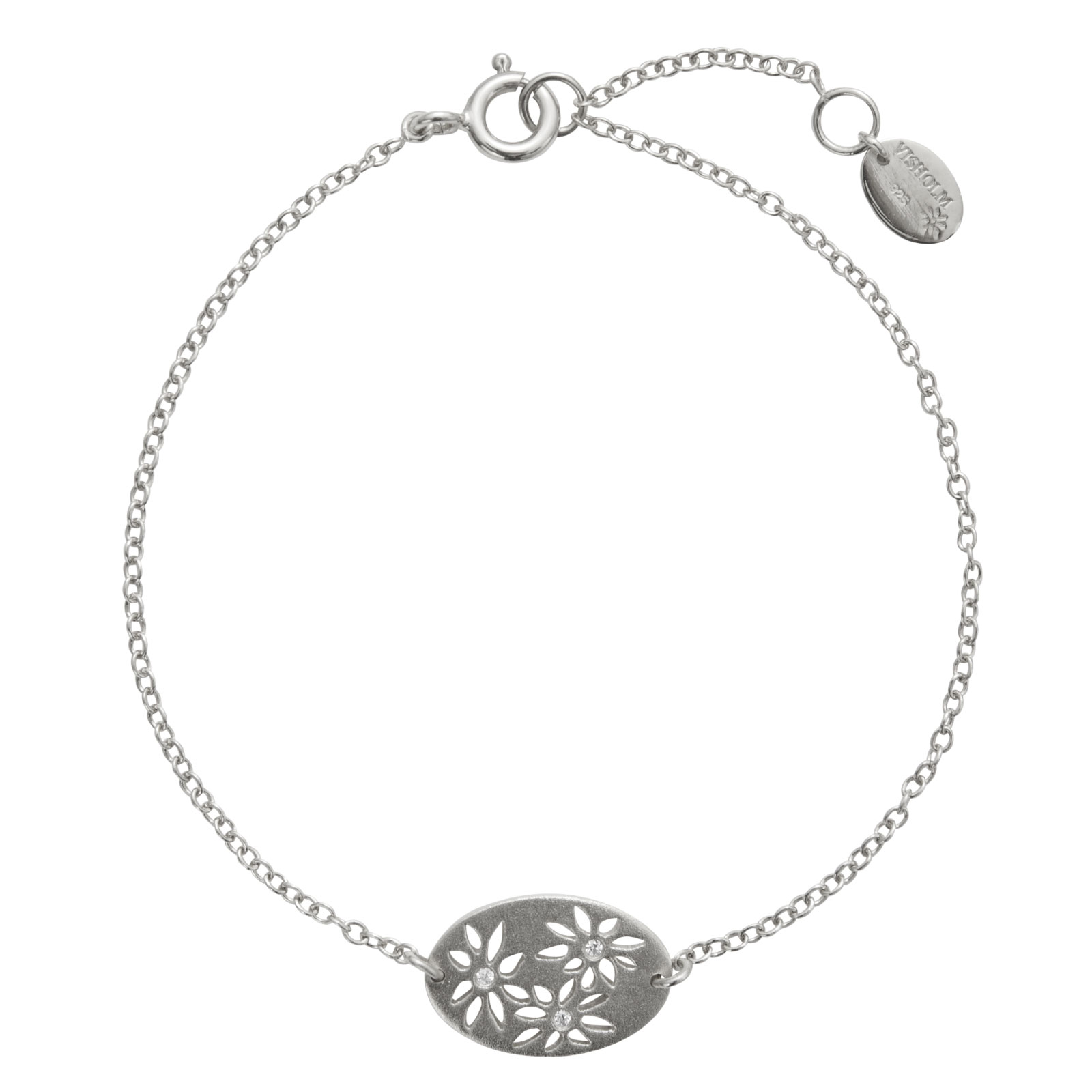 Lene Visholm packshots - sølv-armbånd