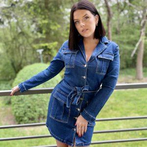 Veste/robe Jeans Mila