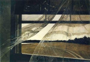 Wind from the sea - Andrew Wyeth (1947)