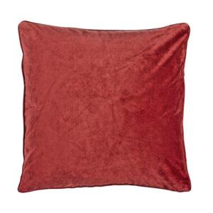 Kuddfodral Velvet Röd