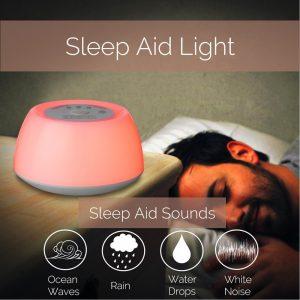 Wecker mit Licht  Dr. Sleep