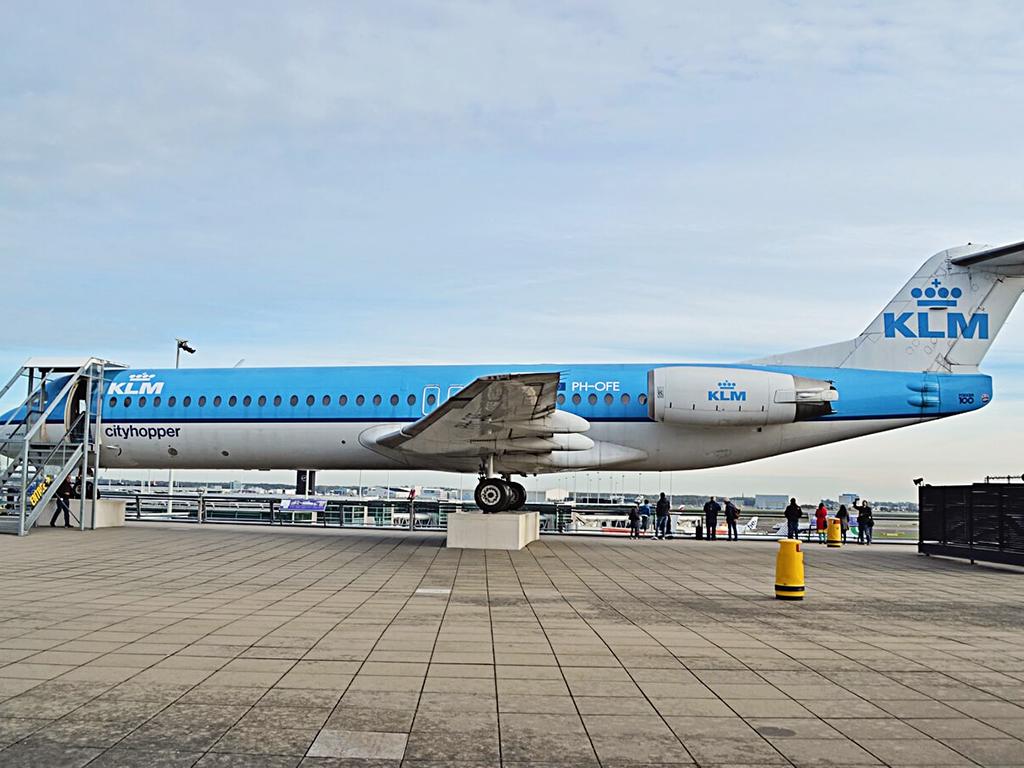 Schiphol-vliegtuig