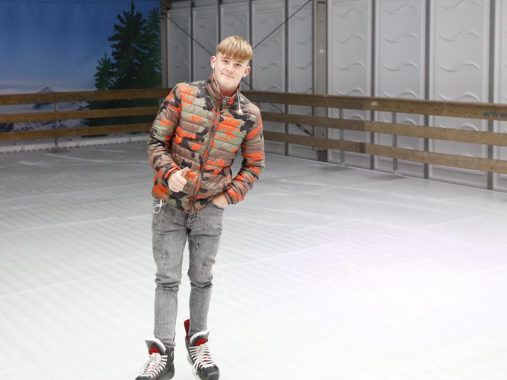 hoofddorp on ice schaatsbaan