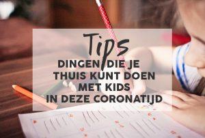 corona tips kids