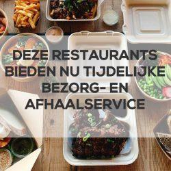 restaurants met tijdelijke bezorging haarlemmermeer