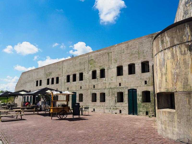 Vis aan de Linie Fort van Hoofddorp