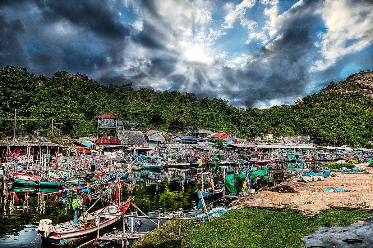 Havneby i fjernøsten
