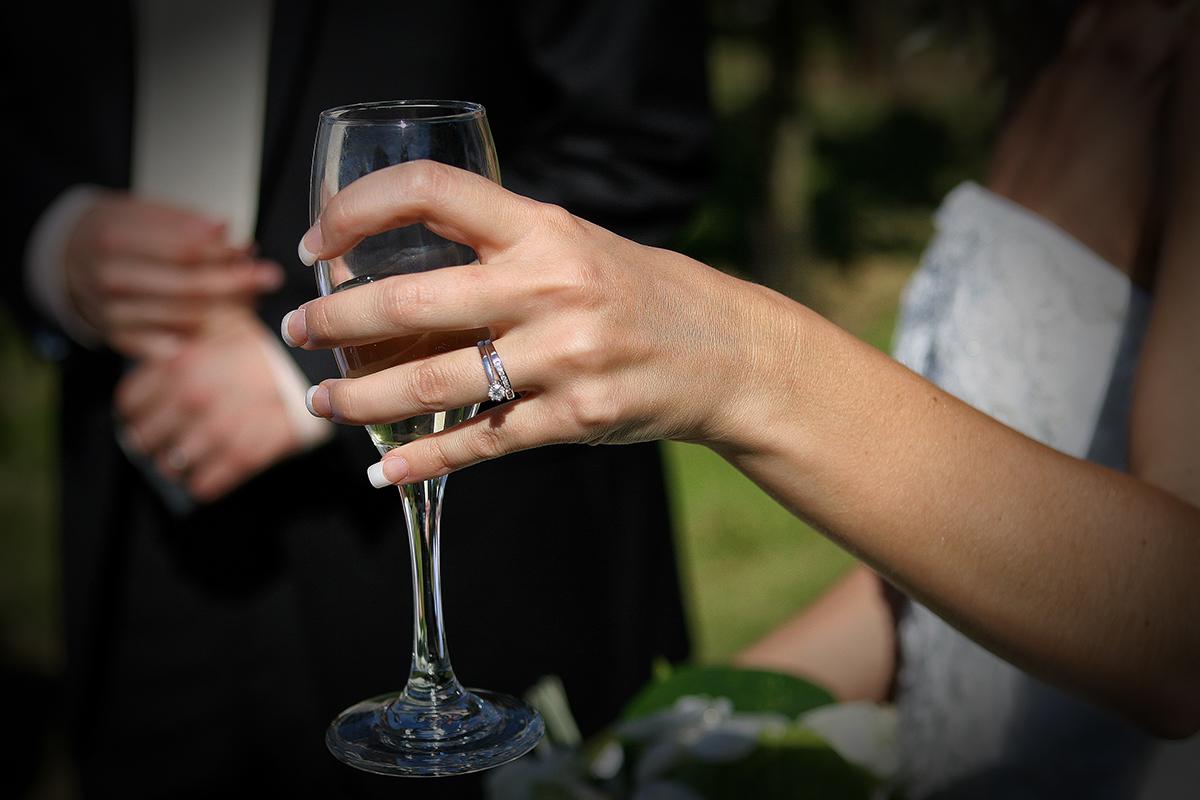 Champagne til bryllup