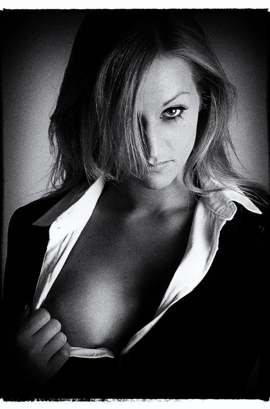 Forretningskvinde boudoir sexet