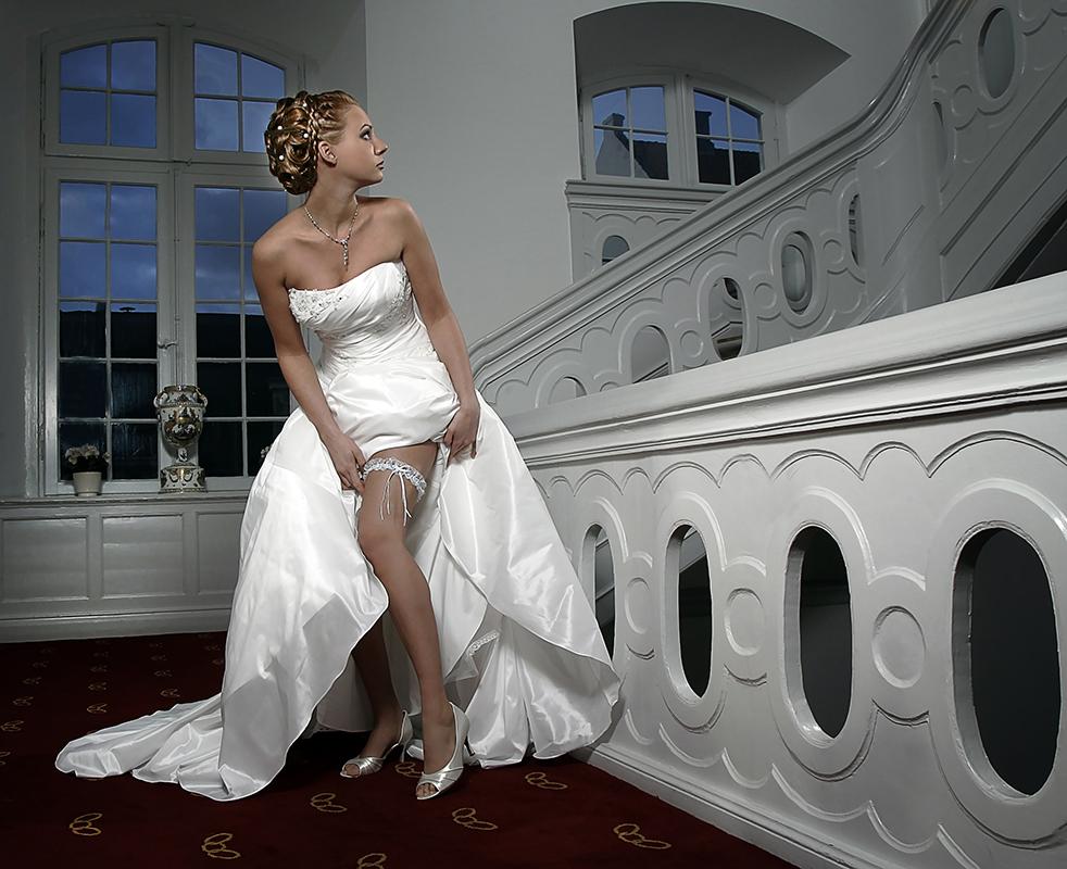 Frækt bryllupsfoto