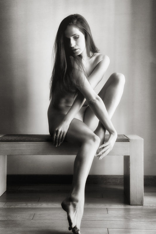 Kvinde boudoirbillede sensuelt