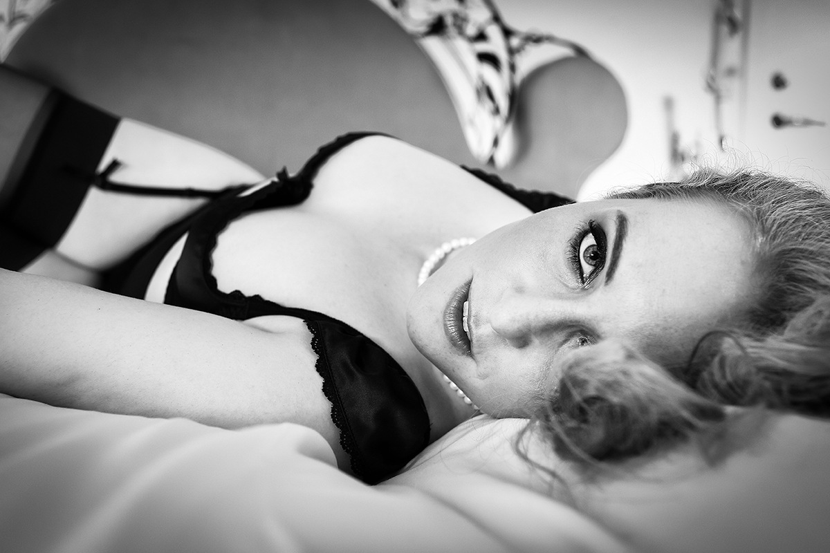Kvinde sensuelt lingeri