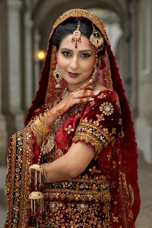 Muslimsk bryllupsfoto