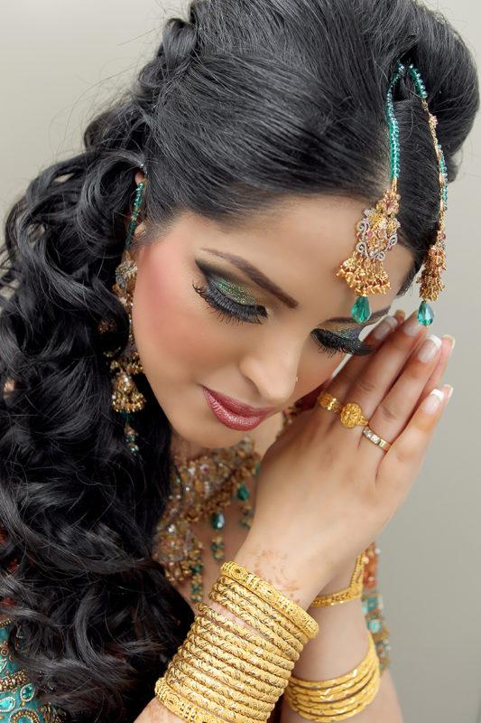 Pakistansk bryllup brud