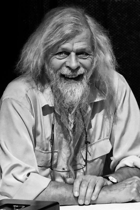 Portrætfoto gammel mand