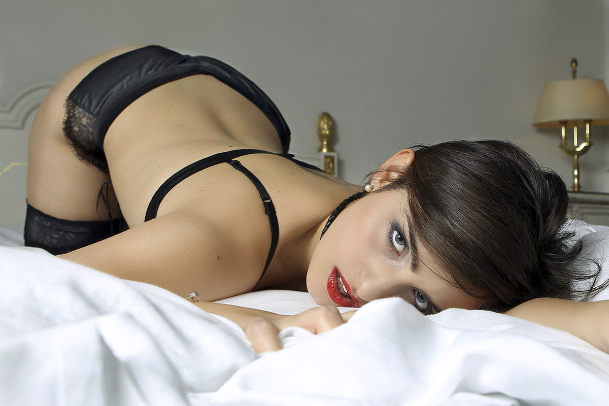 Sexet boudoirbillede