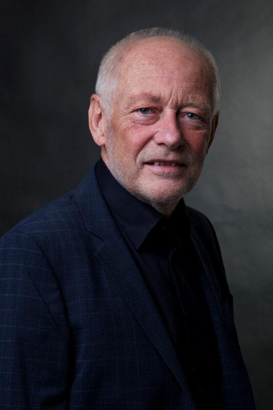 Portrætbillede af gammel mand