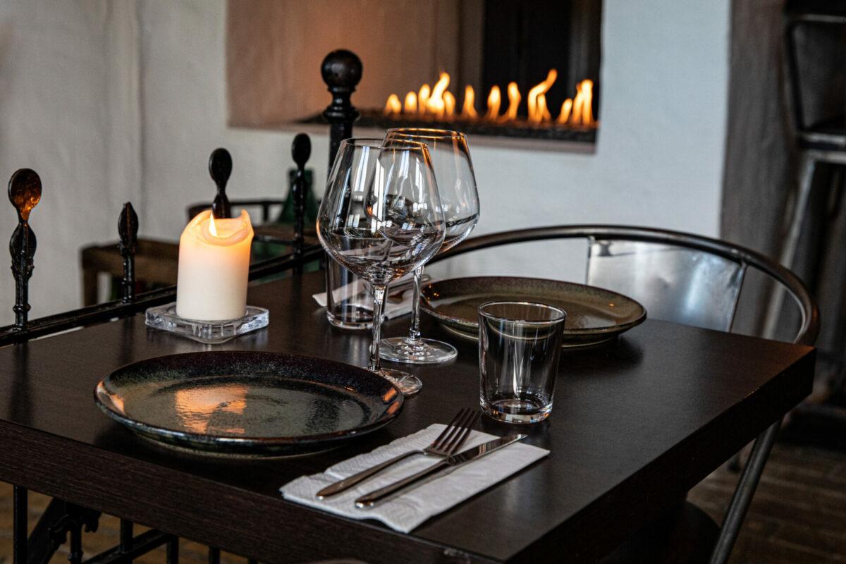 Erhvervsfoto fra restaurant til hjemmeside