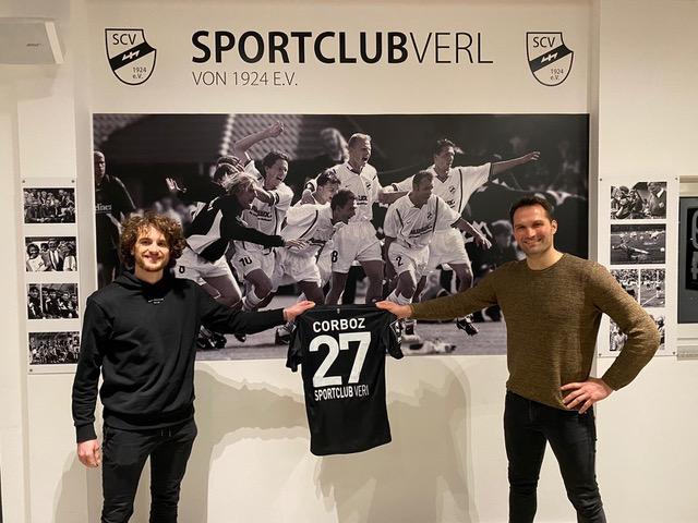 Mael Corboz verstärkt das Sportclub-Mittelfeld