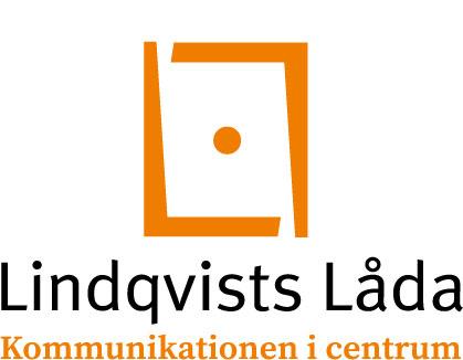 Lindqvists Lådas logotyp