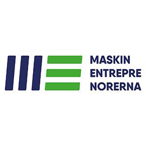 Maskinentreprenörernas logotyp