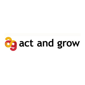 Act and Grows logotyp