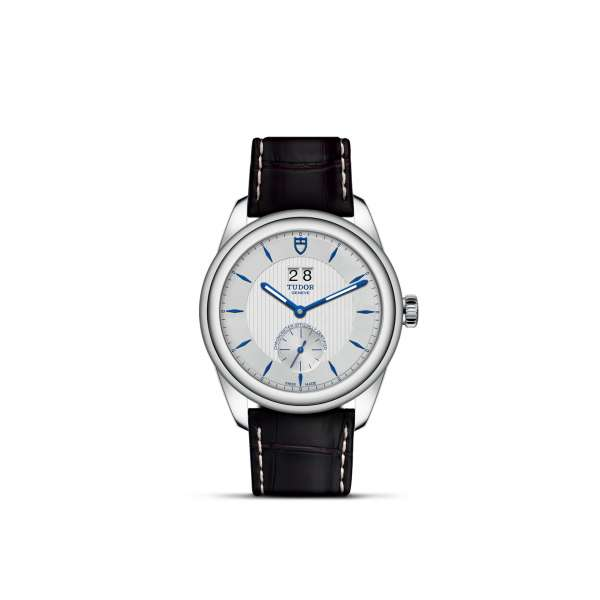 Glamour DD Steel – Leather + Opaline Dial