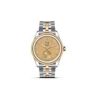 Glamour DD S&G – S&G Bracelet + Cham Dial