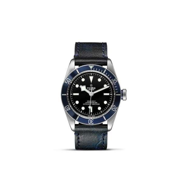 Black Bay (Blue Bezel) – Leather Bracelet