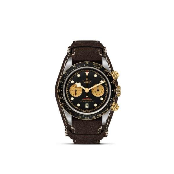 Black Bay Chrono S&G – Leather Bracelet